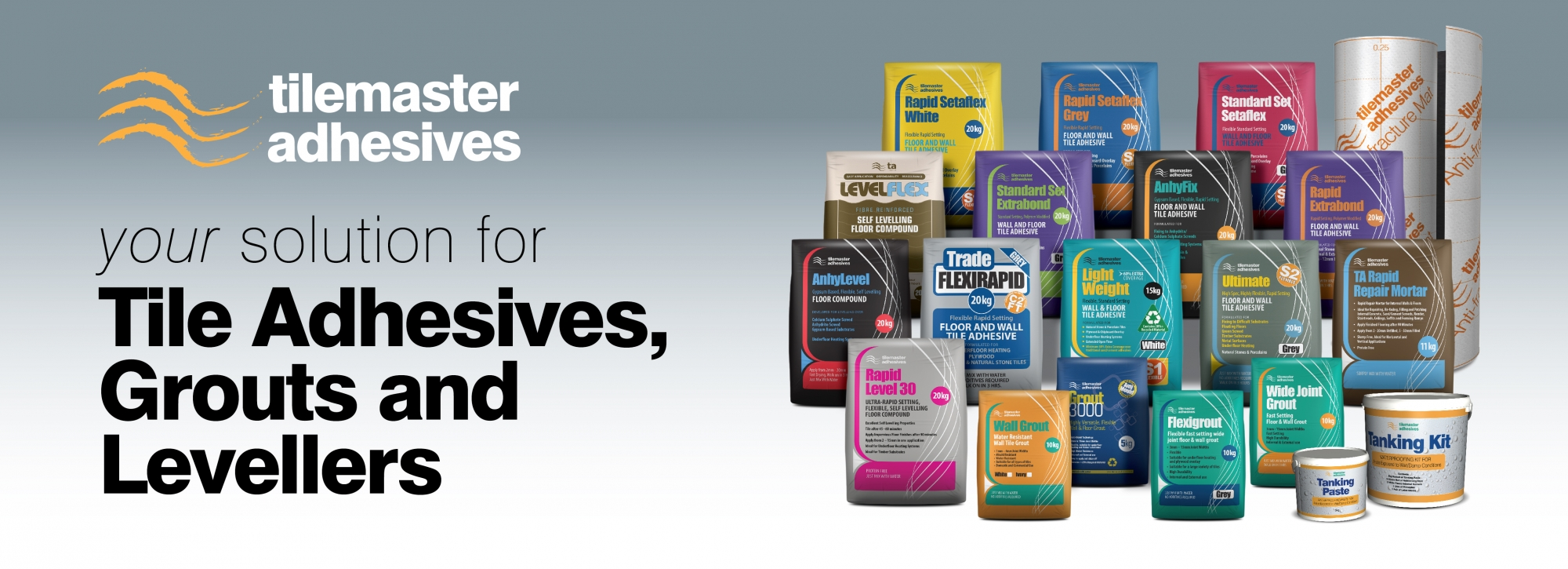 Tilemaster Adhesives Service, support and delivery nationwide!