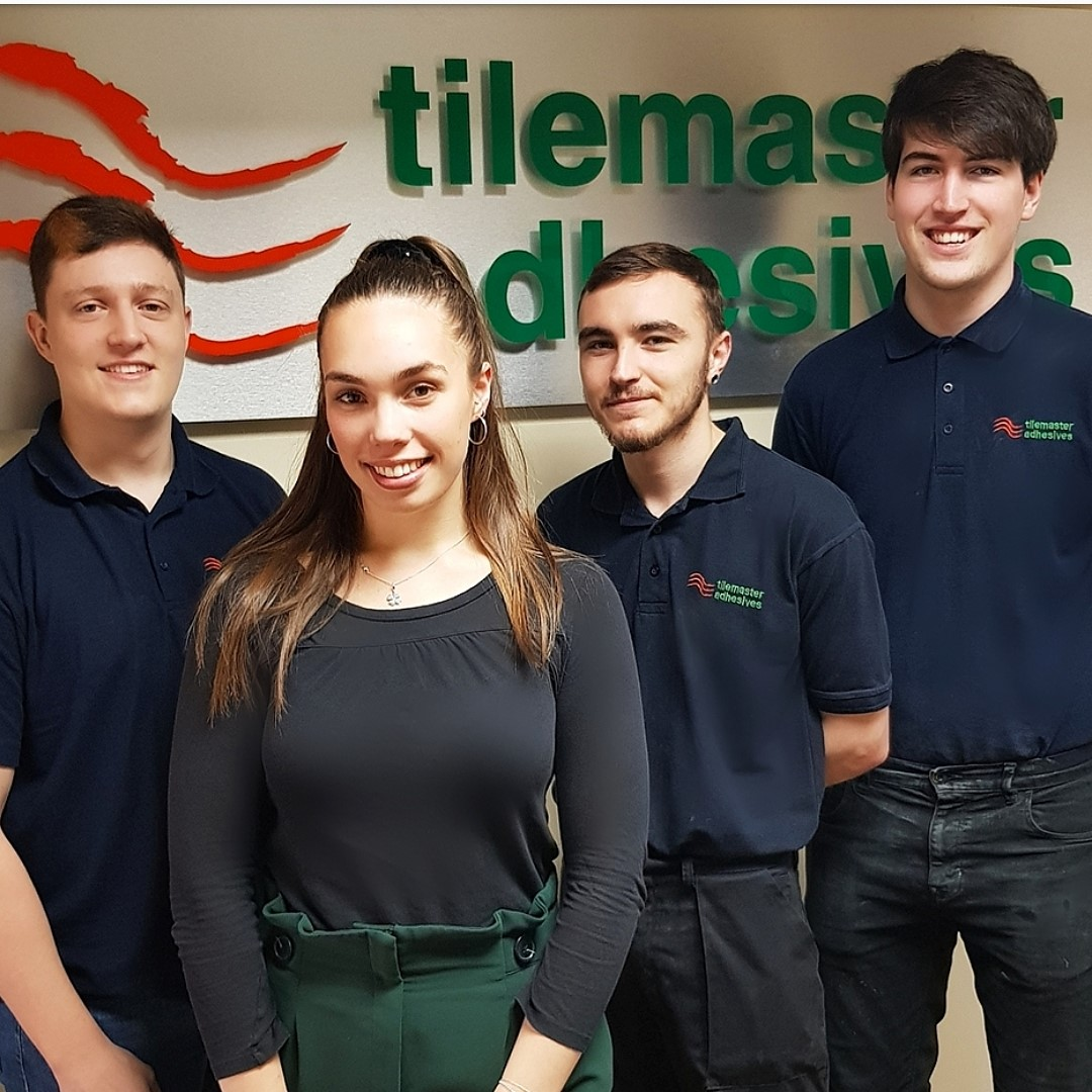 Tilemaster Adhesives boosts team by a further four