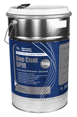 High coverage, tolerant solution with Tilemaster One Coat DPM