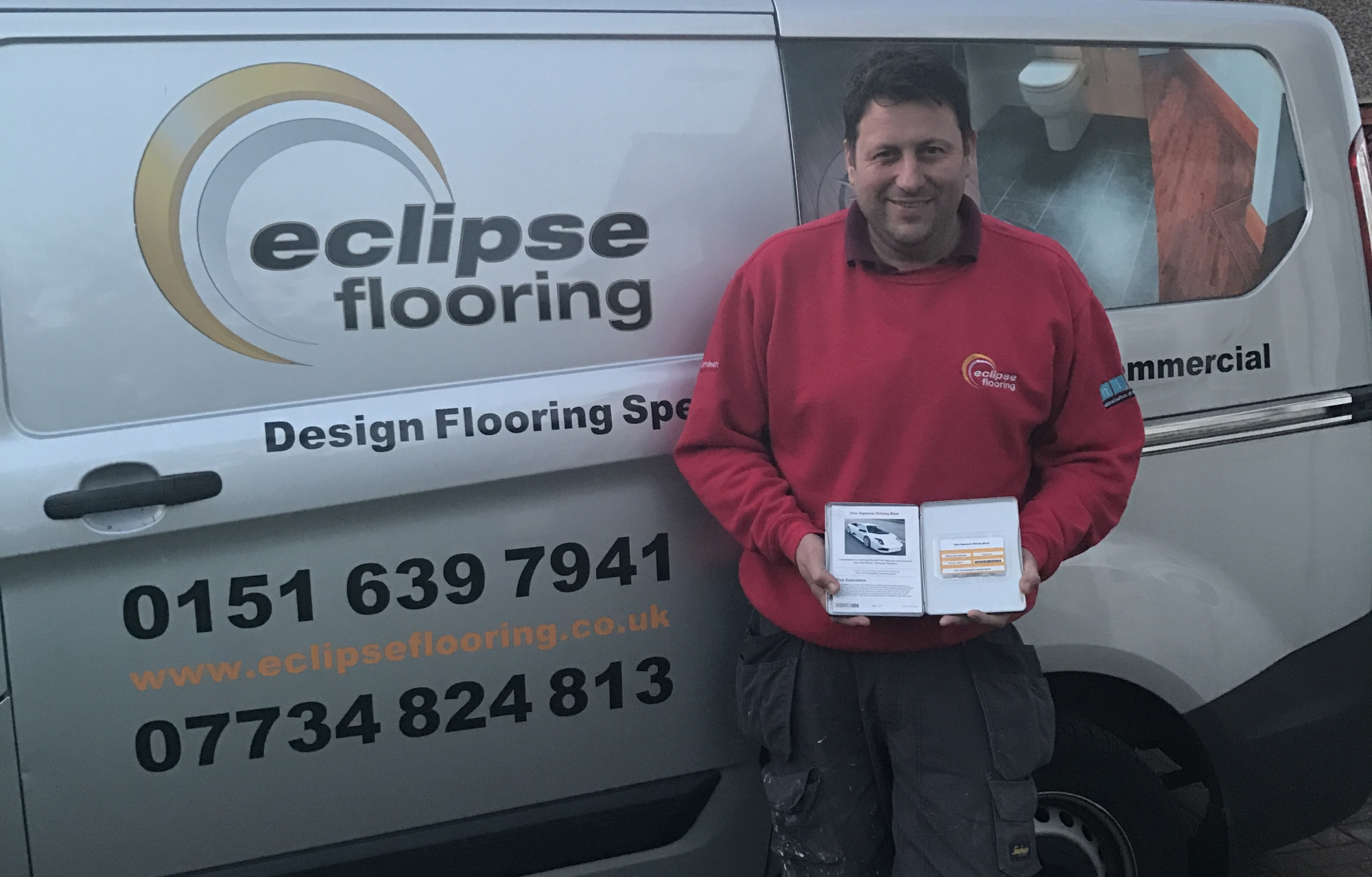 Speed on the track and on the job for Tilemaster winner, Eclipse Flooring