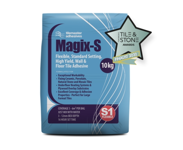 Magix-S shortlisted for Tomorrow's Tile And Stone Award 2020