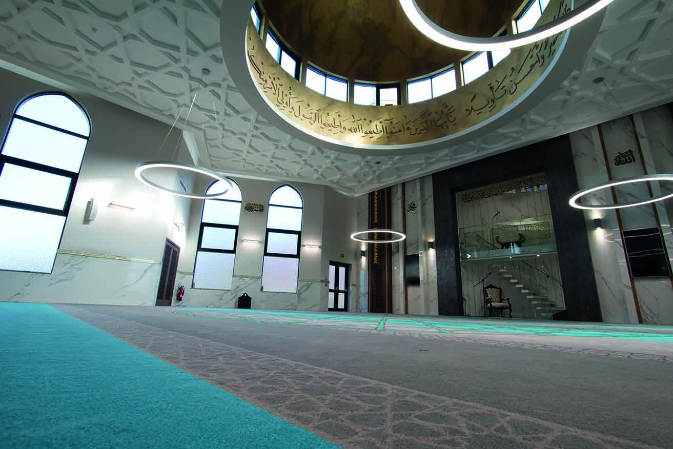 Tilemaster joins Roccia tiling scheme at Preston's landmark mosque