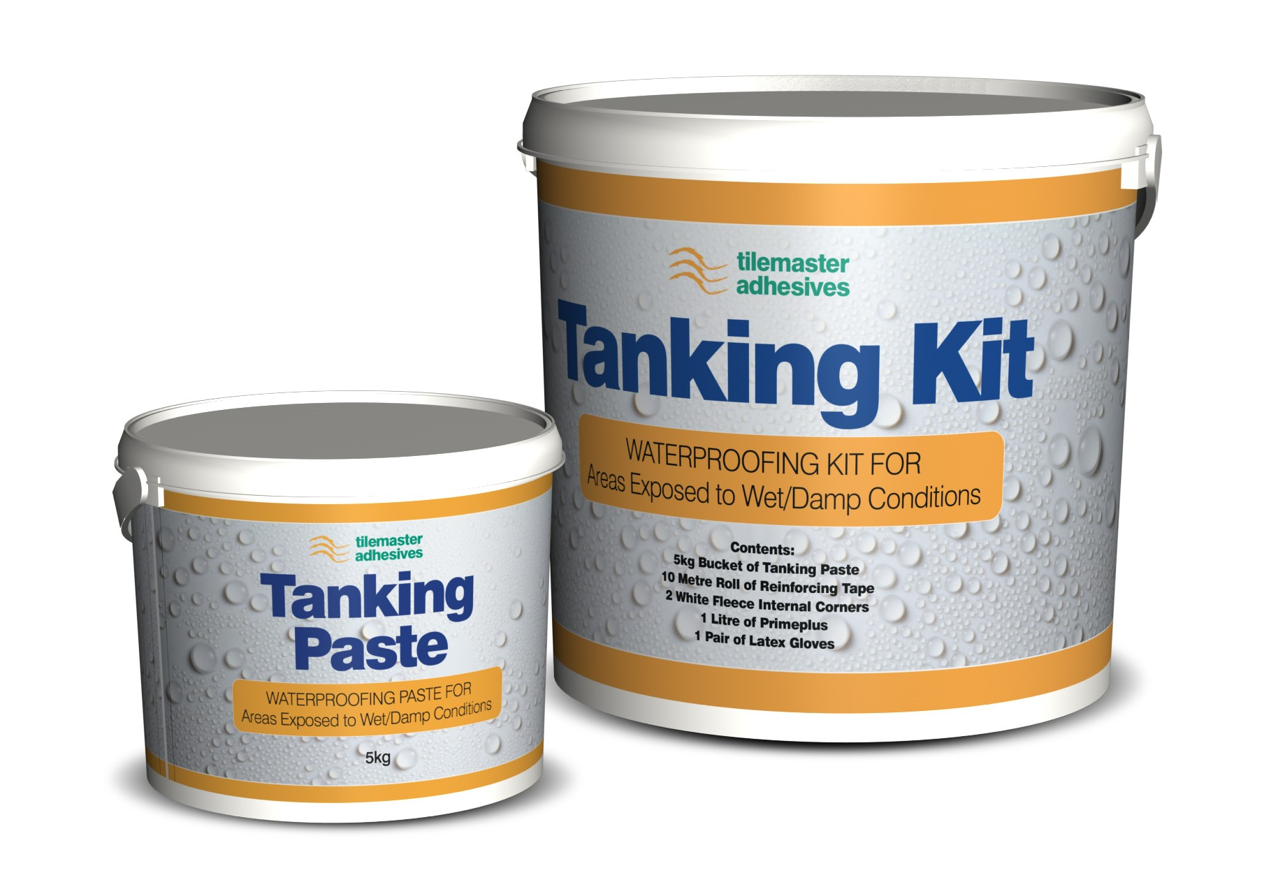 Fast, waterproof solution with Tilemaster Tanking System