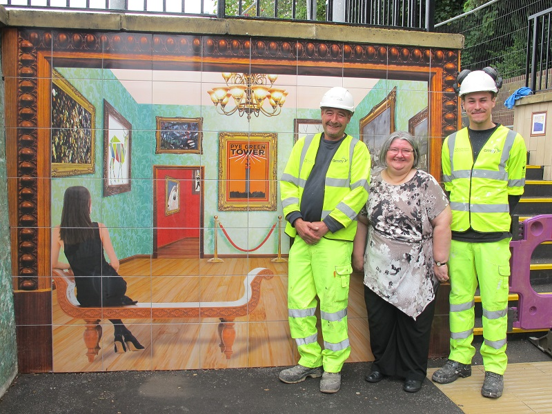 Tilemaster helps transform underpass to 'art gallery'