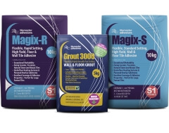 It's a kind of Magix - easy fixing of 20mm tiles with Tilemaster Adhesives