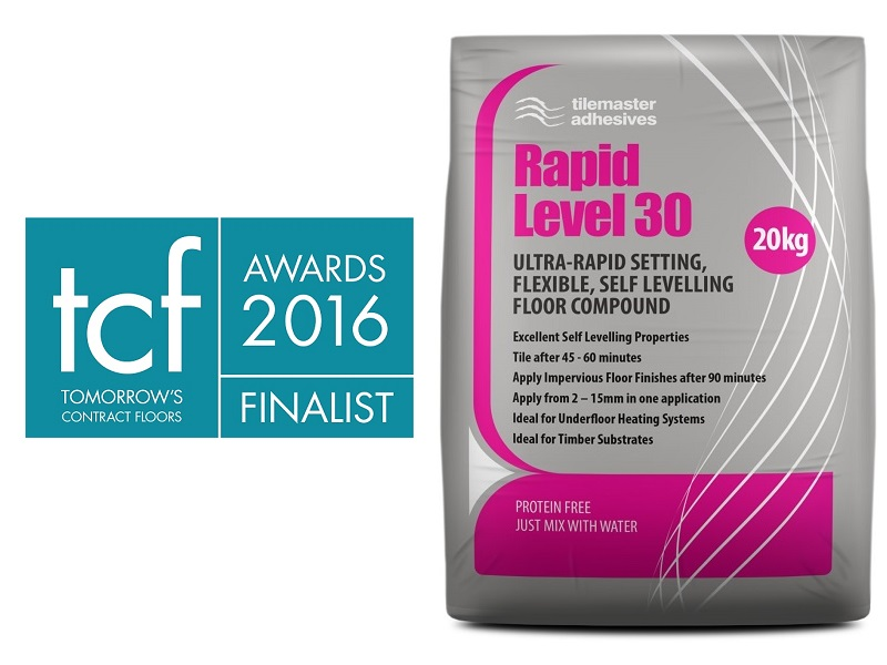 Award nomination for 'real deal' Tilemaster Rapid Level 30