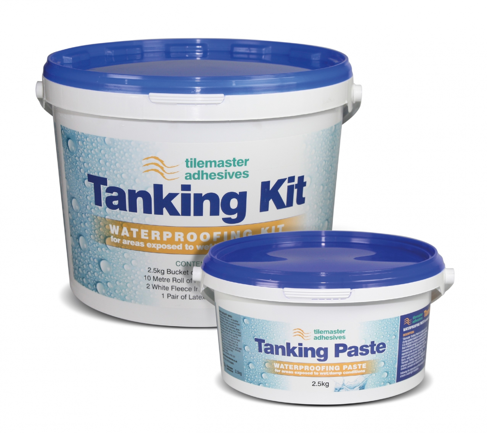 Tilemaster launches fast-drying Tanking Kit & Paste system