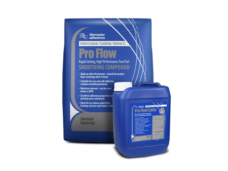 Tilemaster launches new rapid-set Pro Flow screed