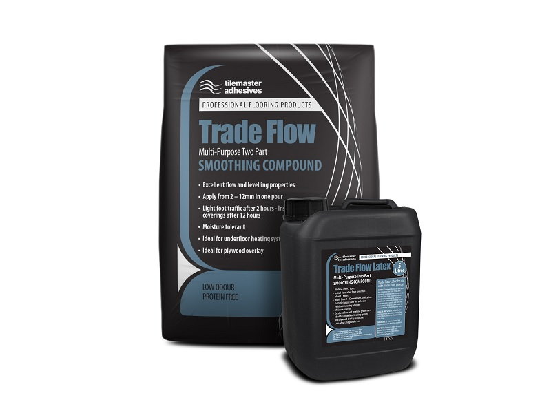 Multi-purpose Trade Flow joins Tilemaster floor-prep range
