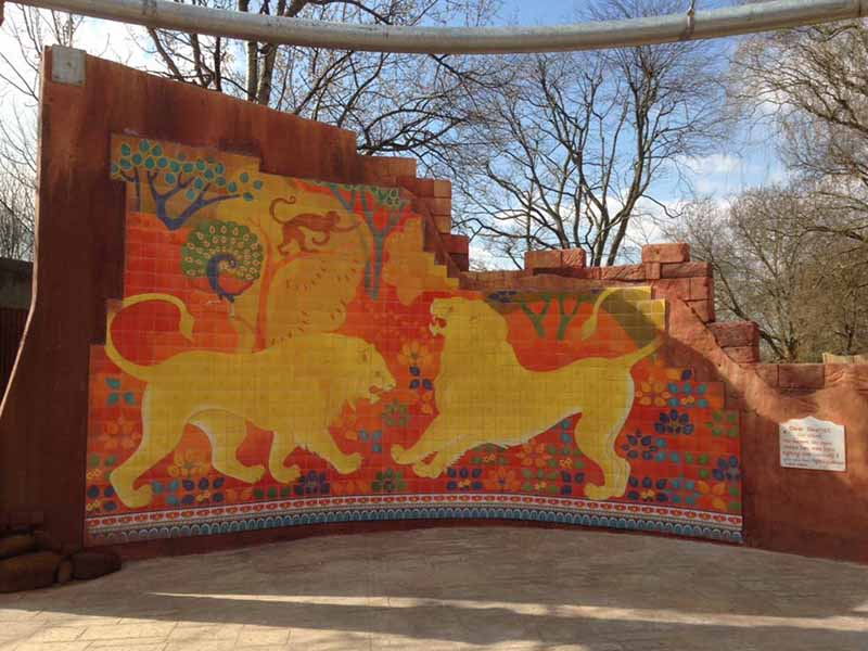 Tilemaster installation a 'roaring success' at London Zoo